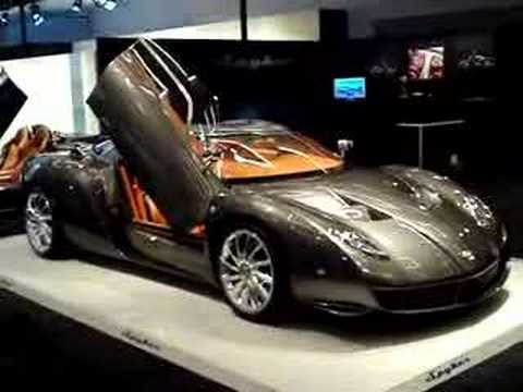 Spyker C12 Zagato Youtube