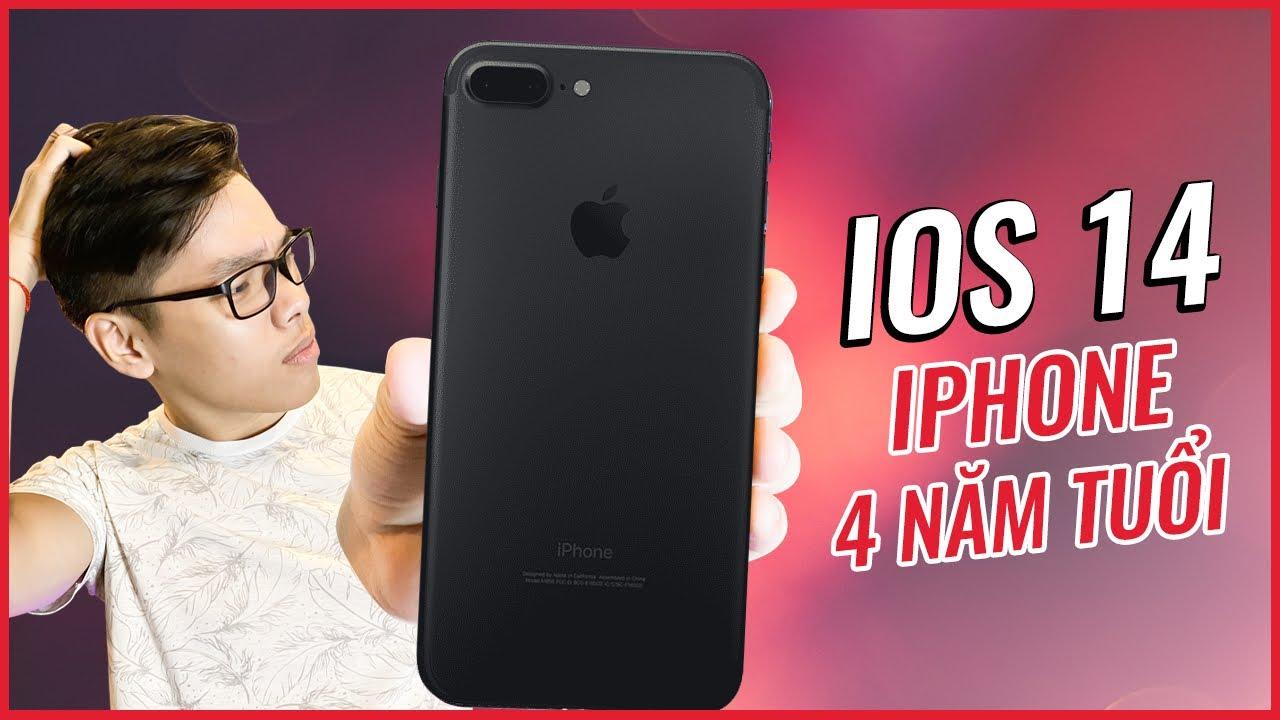 iOS 14 Trên iPhone 7Plus - 4 Năm Tuổi Vẫn Ngon Như Mới