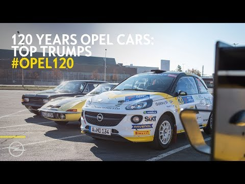 Opel Top Trumps: The iconic game becomes reality!