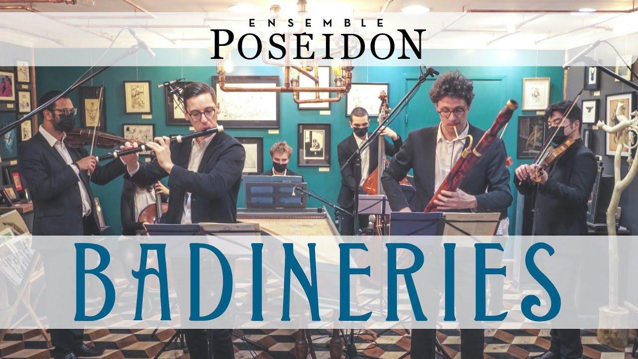 """Ensemble Poséidon • Programme """"Badineries"""" — Teaser"""