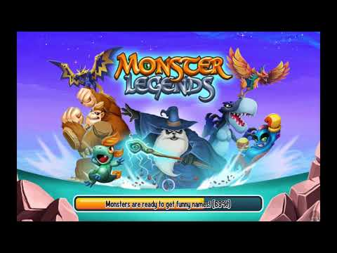 my second time playing monster legends
