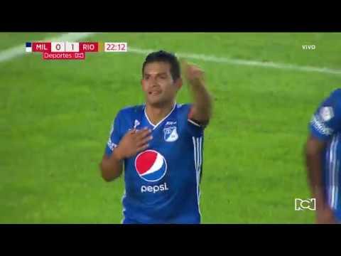 Millonarios 1-1 Rionegro Águilas, golazo Macalister Silva I Deportes RCN