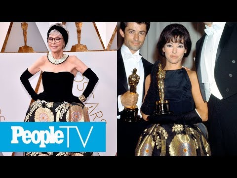 Rita Moreno Recycles Her 1962 Dress 56 Years Later On The Red Carpet  PeopleTV
