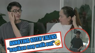 "Annoying Keith Talens ""Napikon sa prank ni Vena nag walk out"""