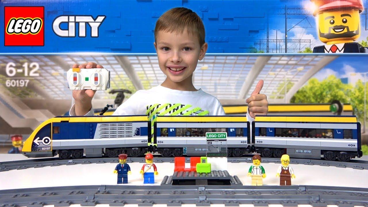 Pociąg Pasażerski Recenzja Lego City 60197 Książki Moje Miasto