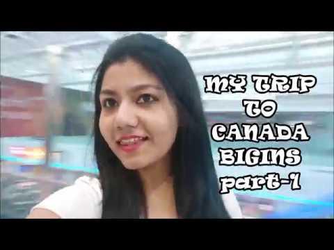 Canada Trip Begins PART 1 /  Sault Ste Marie , Canada