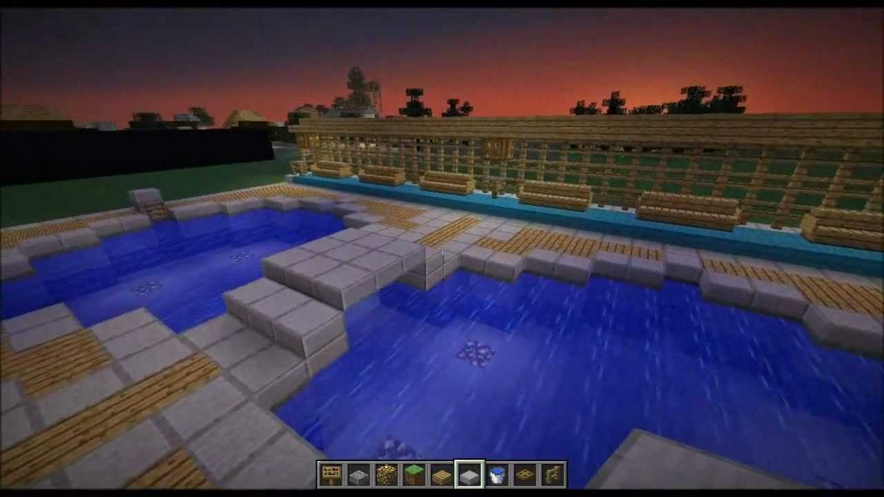 Minecraft Home Design Tips For Swimming Pools Youtube