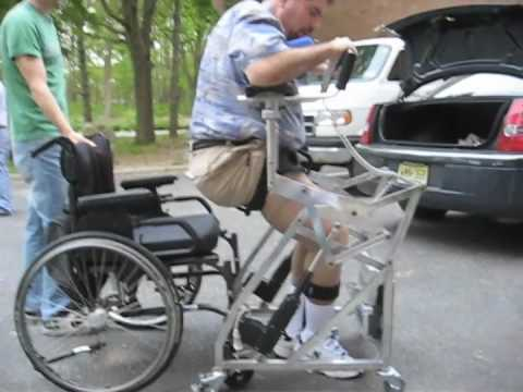 Independent Lift Assisting Mobility Walker (1st Prototype. PATENT ...