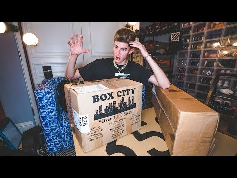 Unboxing A HUGE Vlone Mystery Box!