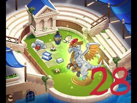 Merge Dragons - Ancient Games pt  4