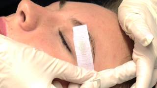 How To Wax Eyebrows - Salon Perfect - Step by Step Guide - DIY
