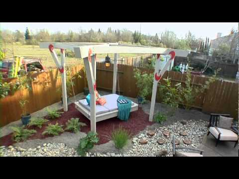 Outdoor Floating Bed fire water vs. floating bed diy network landscapescochran 3