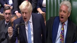 BREXIT PROROGATION SCUFFLE: Chaotic scenes as UK parliament suspended