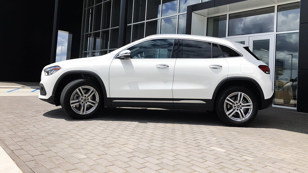 Let's Take A Test Drive In The 2021 Mercedes Benz GLA 250