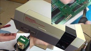 Trying to FIX a Faulty NES (Nintendo Entertainment System)