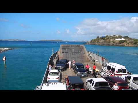 St. Thomas Car Ferry Explained