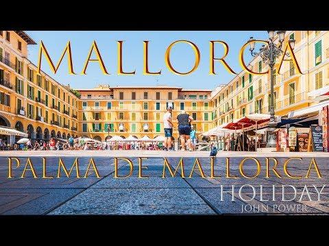 Palma de Mallorca City Port and Castell de Bellver Travel City 4K 2018 Part 7