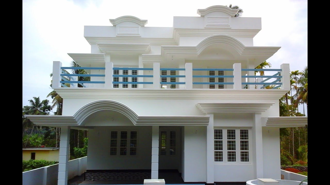 6 cents plot and 1 500 sq ft small budget house youtube for House plans below 1500 sq ft kerala model