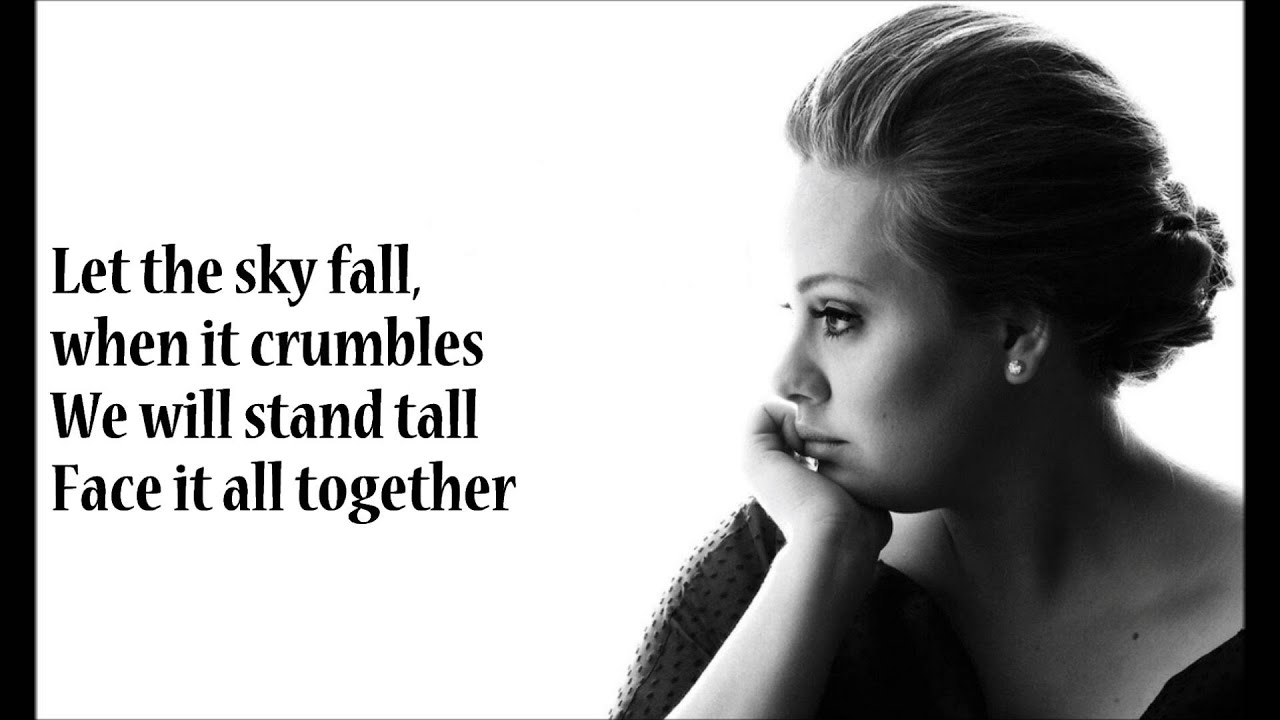 Adele - Skyfall (Lyrics Full) - YouTube
