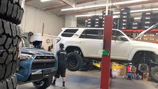 4Runner TRD Pro & 4Runner TRD Offroad Kings OME & SCS Wheels