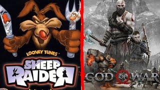 Sheep Raider + God of War 2018 - En Español