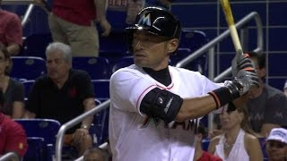ATL@MIA: Ichiro earns first hit with Marlins thumbnail