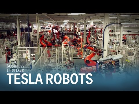 Meet 'Iceman' and 'Wolverine' — the 2 coolest robots in Tesla's factory