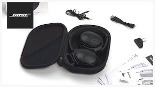 Bose QuietComfort 35 – Unboxing + Setup