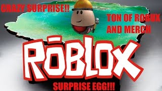 ROBLOX SURPRISE EGG! CRAZY CONTENT TONS OF FREE ROBUX!