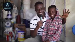 I Want To Be Just Like Sarkodie - 9 Year Old Dope Rapper Kwadwo Gilchris