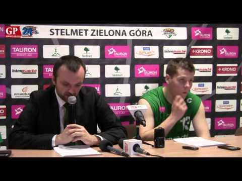 Mihailo Uvalin i Kamil Chanas po meczu z Energą Czarnymi Słupsk