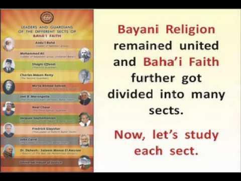 Division among the followers of Bab and Baha'u'llah