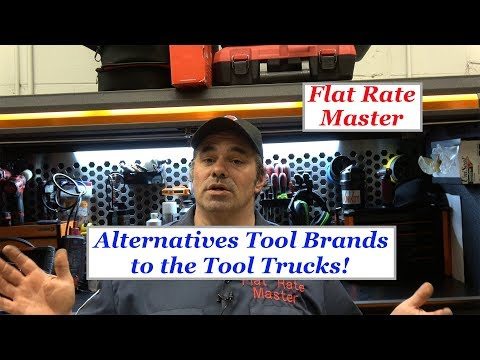 Alternatives Tool Brands to the Tool Trucks!