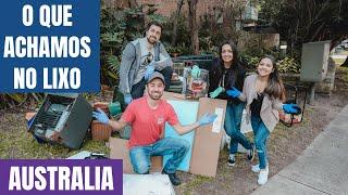 OLHA O QUE ENCONTRAMOS NO LIXO NA AUSTRALIA Ep.05 | Participação Boni Two - PARTE 2