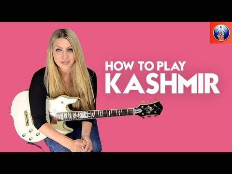 How to Play Kashmir - Led Zeppelin Guitar Riff Lesson