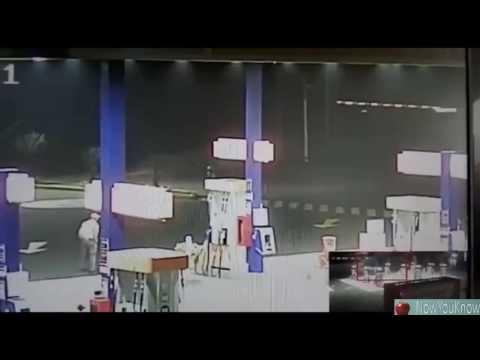 Strange Alien Entity Or Robot Seen Near A Gas Station In Peru