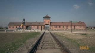 A drone just flew over Auschwitz and captured something incredibly powerful thumbnail