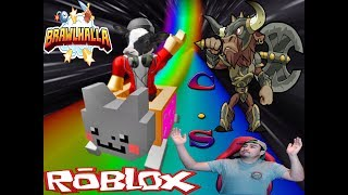 MIXED BRAWLHALLA AND ROBLOX WITH SUBS
