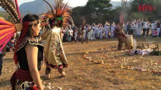 Reciben equinoccio de primavera en Tehuacalco, Guerrero