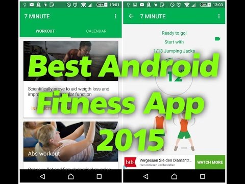 Best Android  Fitness and health Apps #2 - Review