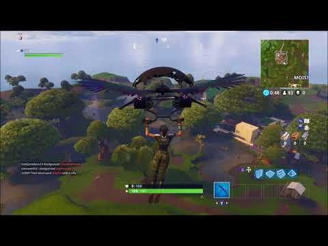 "Fortnite season 4 Week 4 treasure map location ""Bench, Ice Cream Truck and a Helicopter"