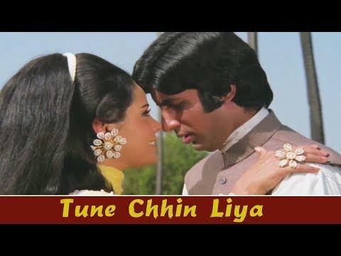 Tune Chhin Liya {HD} - Bollywood Romantic Song | Amitabh Bachchan, Mumtaz | Bandhe Haath