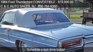 1964 Ford Thunderbird CONVERTIBLE Convertible for sale in Ri