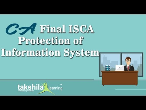 CA Final ISCA Online Classes | Protection Of Information System | CA Video Lectures