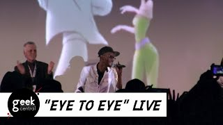 "Tevin Campbell (Powerline) sings ""Eye to Eye"" LIVE 