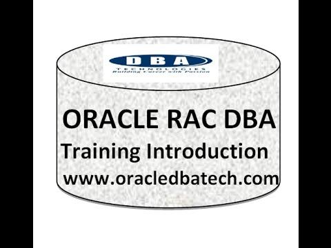 Oracle RAC DBA Training - Introduction