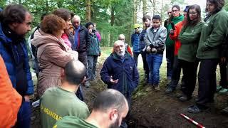 Deshobiratzea Zeanuriko Altun mendian   Exhumación monte Altun de Zeanuri