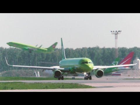 Аэропорт Домодедово. Майское утро. Взлеты, руление, реверс. #Planespotting 2019