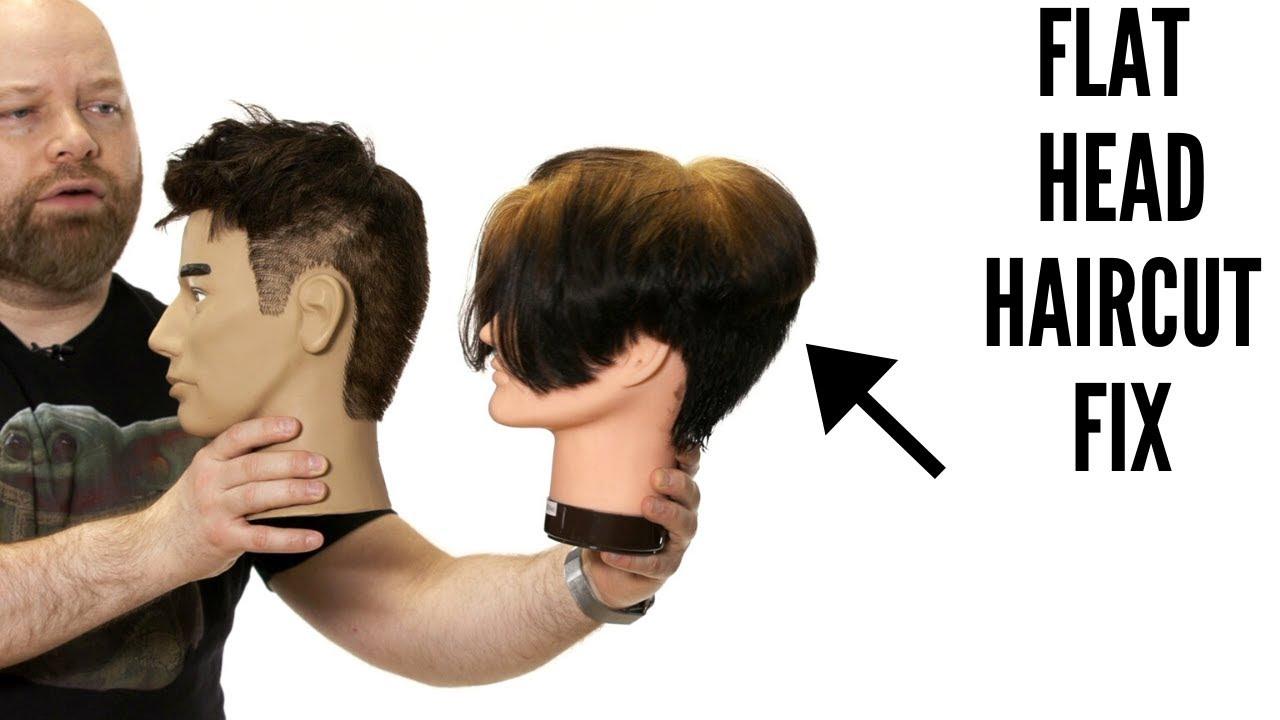 Flat Head Fix   TheSalonGuy