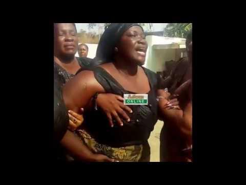 Ebony's mum reaction towards her daughter's death